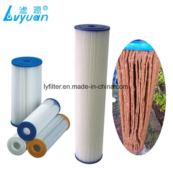 Whole House Washable Paper Pleated Polyester Swimming Pool Filter Cartridge