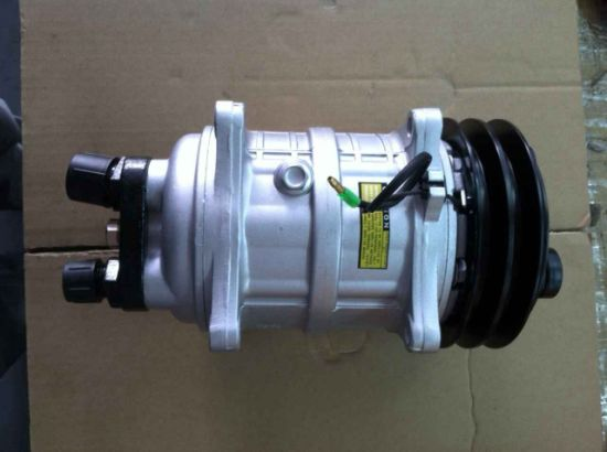 Sanden Type Auto Air Compressor pictures & photos