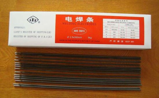 Direct Factory Supply Mild Steel Welding Electrode/Rod E7018 pictures & photos