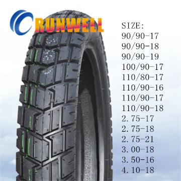 Double Purpose Motorcycle Tyres 90/90-17 90/90-18 110/90-16 110/90-17