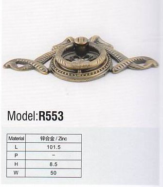 R552 Colorful Hardware Copper Handle pictures & photos