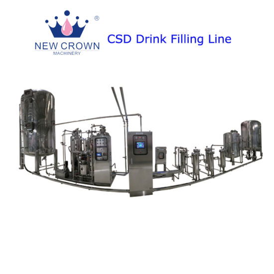 China Produce Carbonated Drink Mixing Production Line