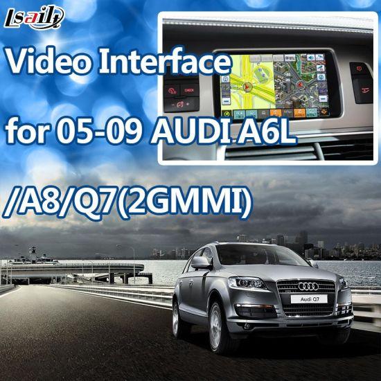 (05-09) Car GPS Navigation Box for Audi A6l/Q7