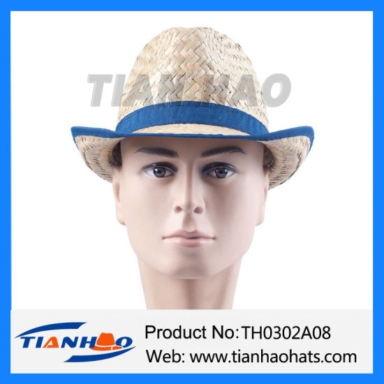 Cheapest Fedora Kwai Grass Nutural Straw Hat for Promotion pictures & photos