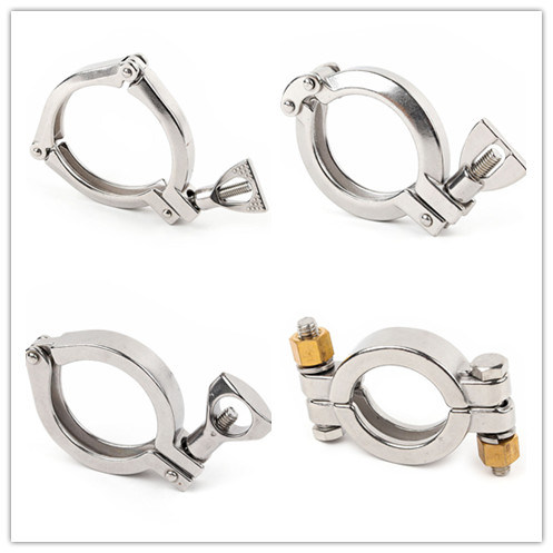Heavy Duty Tri-Clamp 13mhh Pipe High Pressure Ferrule Stainless Steel Clamp