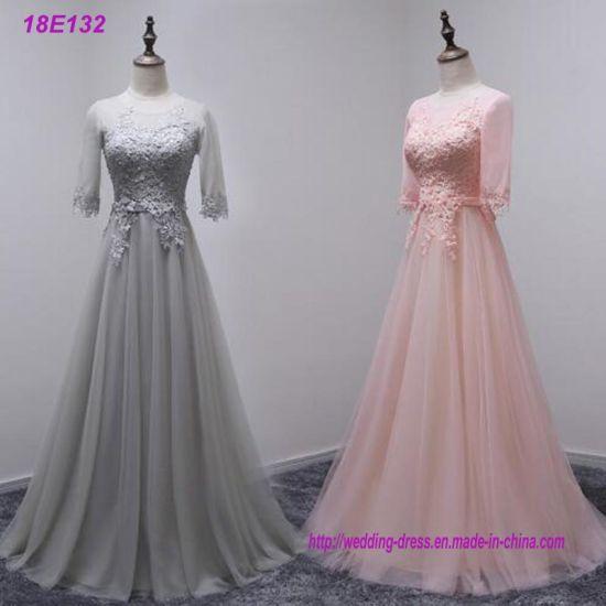 Top Fashion High Quality Bridesmaid Long Dresses