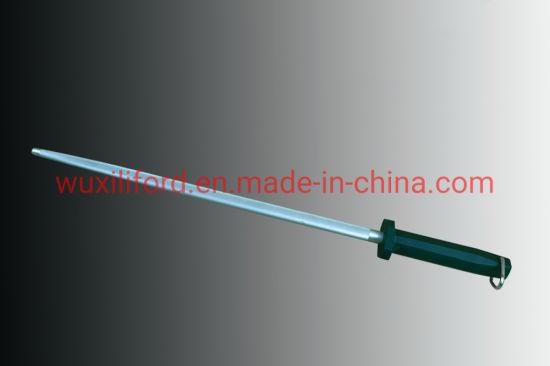 """12"""" Hard Chrome Knife Sharpener Rod for Sharpening Knife"""