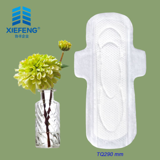 290mm Female Sanitary Napkins Ultra Thin Sanitary Pads Printing Pads Manufacturers