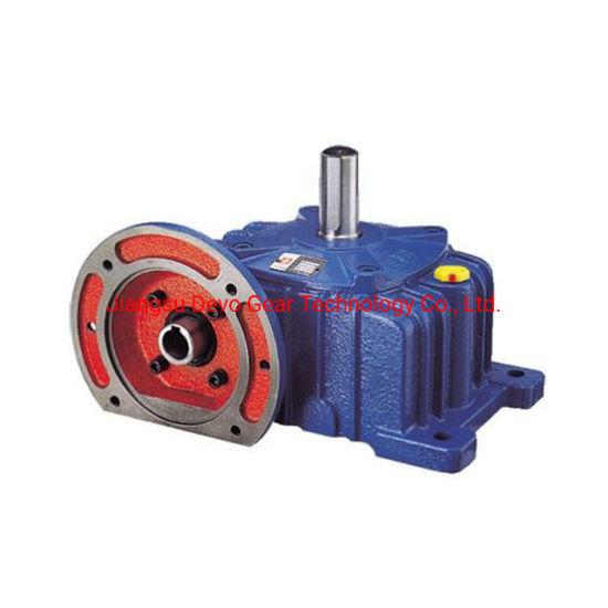 Guaranteed Quality Ratio 10 20 30 40 50 60 Wpda Worm Gear Motor Wpa Speed Reducer Transmission Horizontal Gearbox