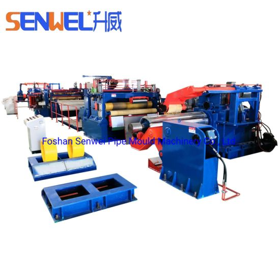 Stainless Steel Carbon Steel Galvanized Coil Slitting Machine Product Line