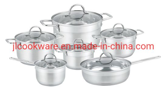 Kitchen Appliances Glass Lid Straight Angle Shape Casserole Set
