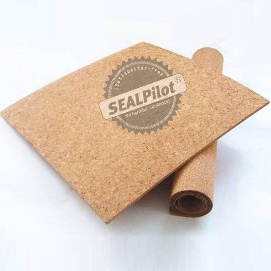 630X930 1.5mm Natural Cork Rubber Material, NBR Cork Rubber Sheet