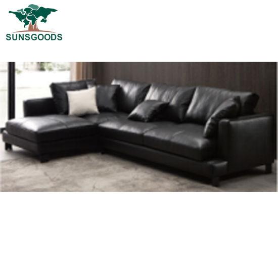 China New Modern Design L Shape Sofa