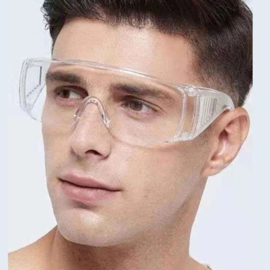 Adult Protective Eyewear Shutter Goggles Transparent Spitter-Proof Eyewear Breathable Wholesale