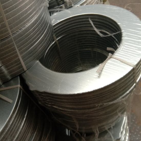 Customize Cylindrical Dust Collector Cartridge Metal Filter End Caps for Air Filter with Flange