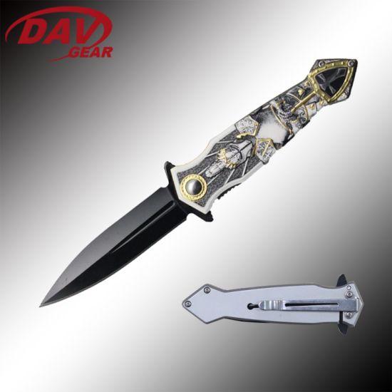 "4.5""Stainless Steel Spring Assisted Folding Pocket Knife OEM"
