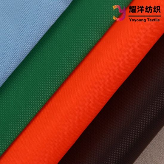 420d Waterproof Nylon Oxford Fabric with PU Coating for Bags pictures & photos
