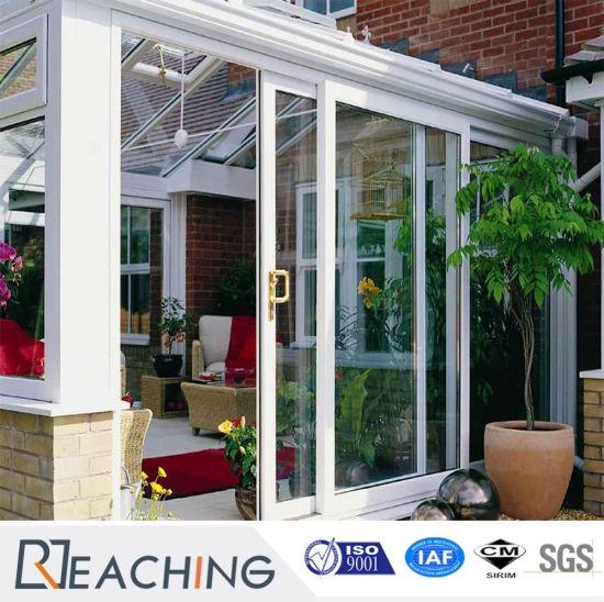 Customized UPVC/PVC Terrace Door Sliding Doors With Germany Hardware