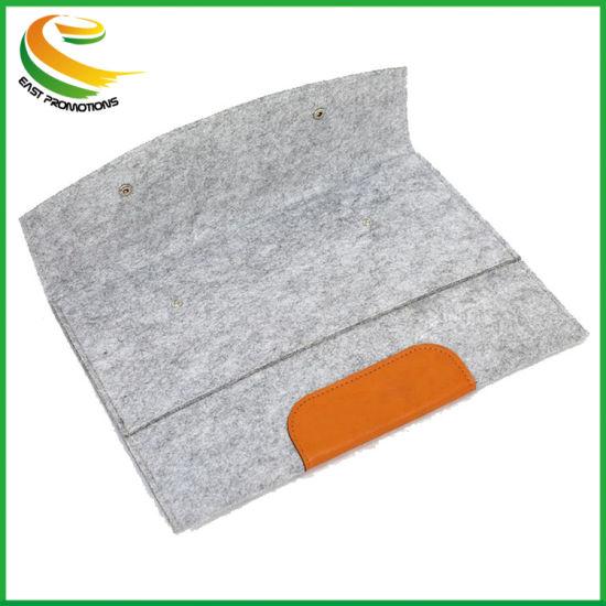 4f3f7dcc6083 China 2018 Fashionable Wool Felt Laptop iPad Coumputor Bag/Cover ...