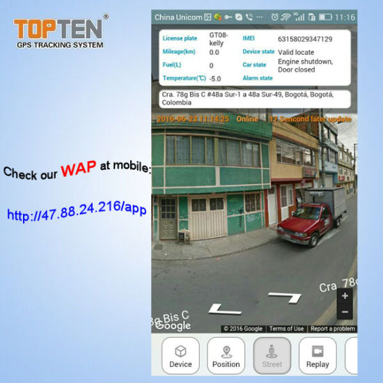 China Car Tracking Device Easy Monitoring by Website/APP, Vehicle
