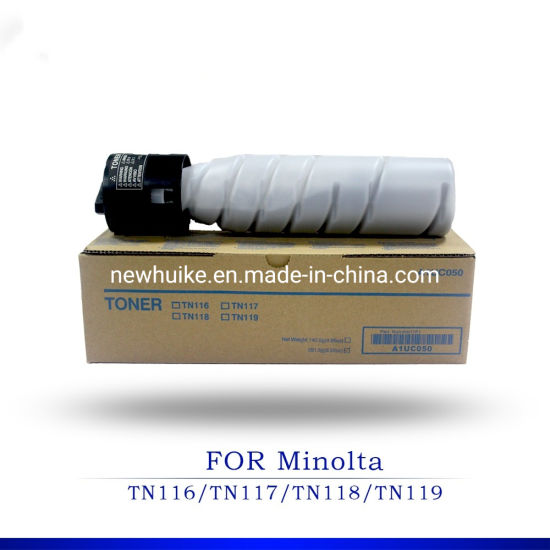 for Konica Minolta Tn116/Tn117/Tn118/Tn119 Compatible Japan Toner Cartridge for Copier Bizhub 164/184/195/215/235/7718