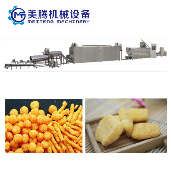 Automatic Snack Food Production Machine China Supply