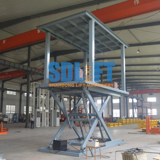 Hydraulic Electric Portable Scissor Car Lift with Ce
