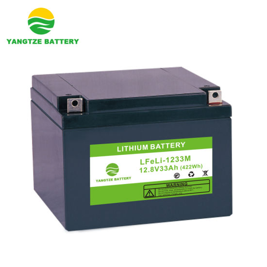 12V 33ah Lithium Ion LiFePO4 Battery Pack