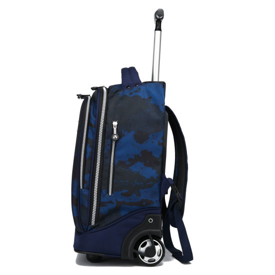 ec44a9ad6 Eminent Trolley Backpack Bag Wheeled Laptop Suitcase School Travel Bag