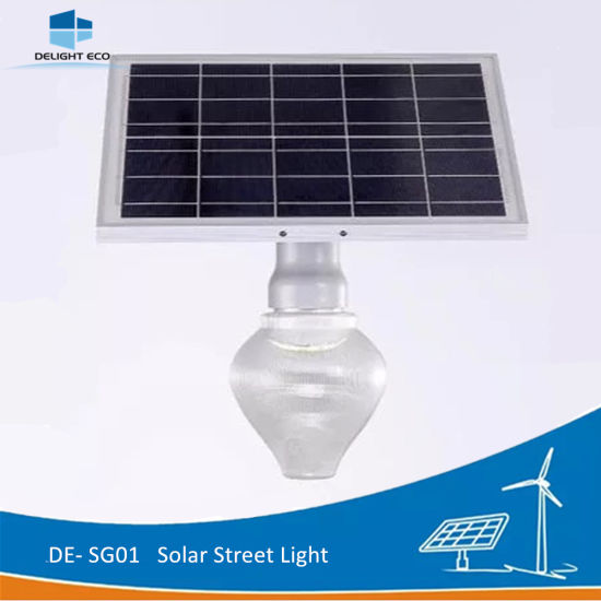 Delight Single Arm 6W Easy Installation Solar LED Garden Wall Light pictures & photos