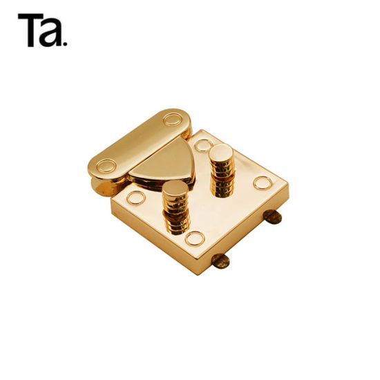 New Arrival Metal Hardware Square Handbag Lock pictures & photos