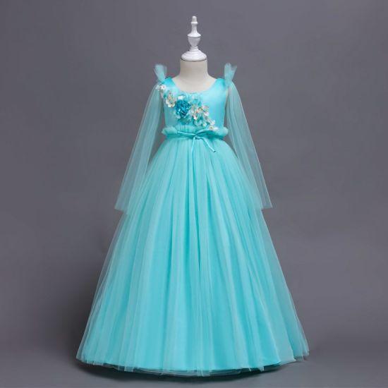 The New Children's Clothing Flower Girl Princess Catwalk Wedding Dress