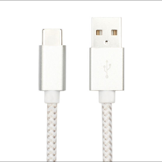Mobile Phone Charging Wire USB-C 3.0 Fast Data C Type Cable Quick Charger