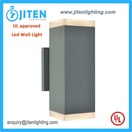 UL Approved Outdoor Wall Lamp 2*11W LED Wall Light