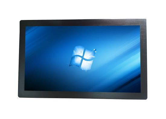 Fanless Embedded All in One Computer Industrial Touch Panel PC J1900 Processor 4+64GB Industrial PC