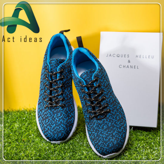 d8076a9b5b9a2 Fly Knitting Upper Hot Sale Men Sports Shoes on Amazon