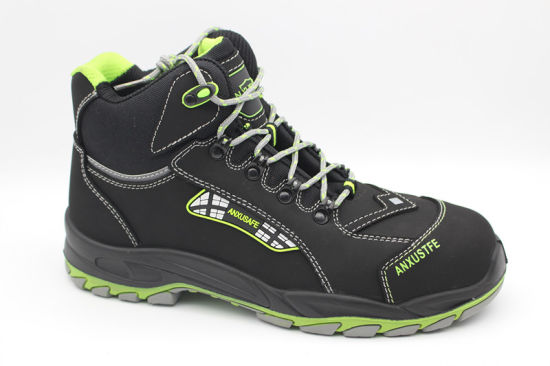 Nubuck Middle Cut Composite Safety Footwear Ax02005