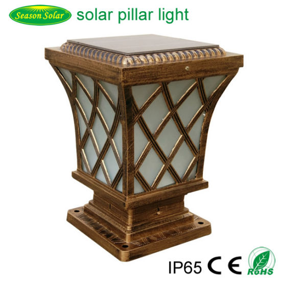 High Power LED Lamp 5W Decking Lighting Garden Outdoor Solar Post Cap Light