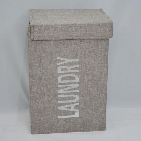 Large Laundry Basket Foldable Hamper With Lid