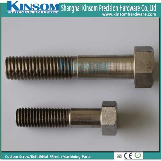 Stainless Steel 316 Partial Thread Hex Bolts M3-M30 pictures & photos