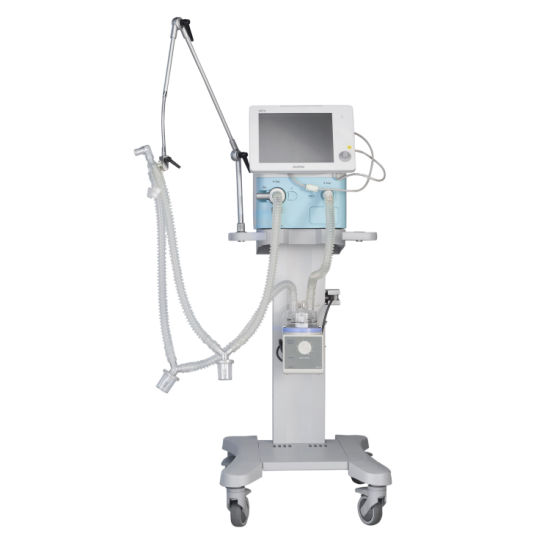 Hospital ICU Medical Equipment Pneumatic Driven Electronic Control Ventilator for Vg70 with Ce pictures & photos
