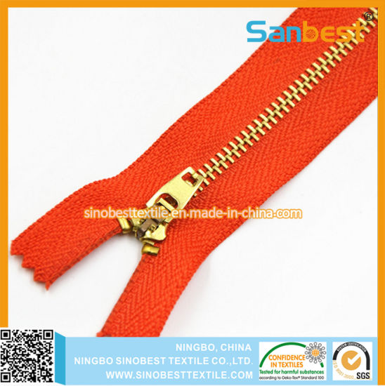 Colorful High Quality of Metal Zipper 5# pictures & photos