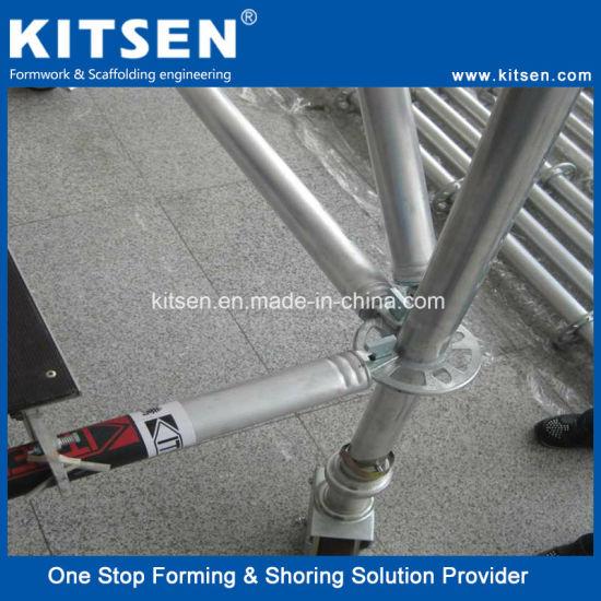 Kitsen Safety Aluminum Ringlock Scaffolding System