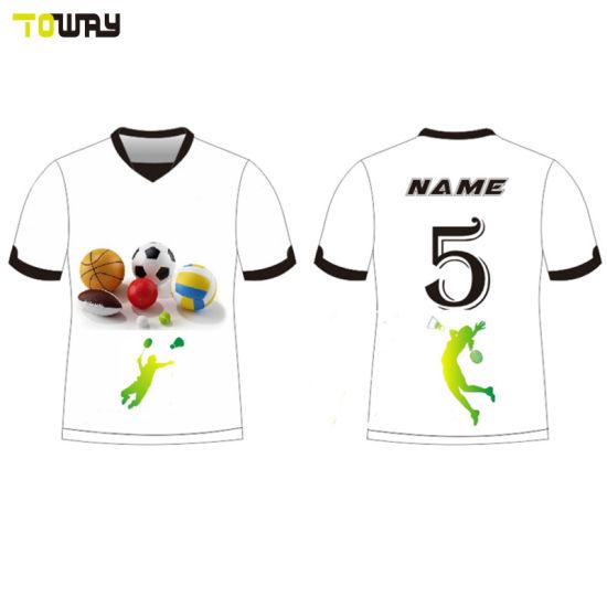 2f3ed3671 China Wholesale Custom Kids Football Shirt Maker Soccer Jersey ...
