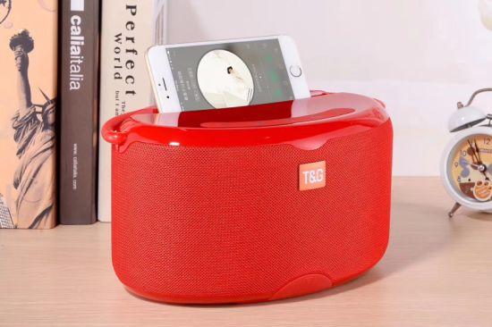 Portable Bluetooth Speakertg137 Wireless Stereo Music Sound Box Support FM Radio Line in TF USB Time/Alarm Clock Speakers