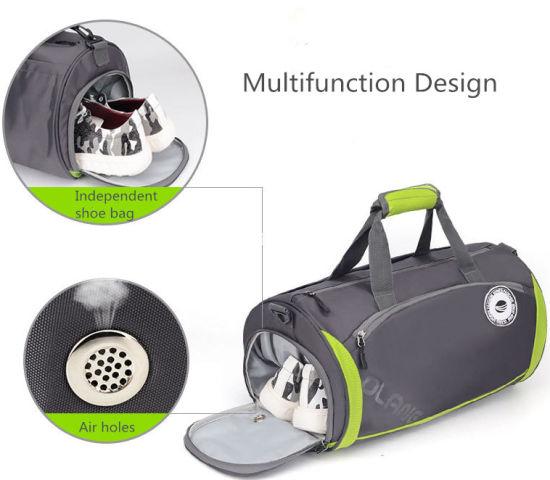 Customised Multifunction Cylinder Bag Light Duffle Gymbag