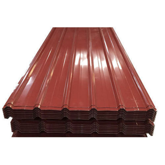 Galvanized Corrugated PPGI Building Material Metal Roofing Sheet