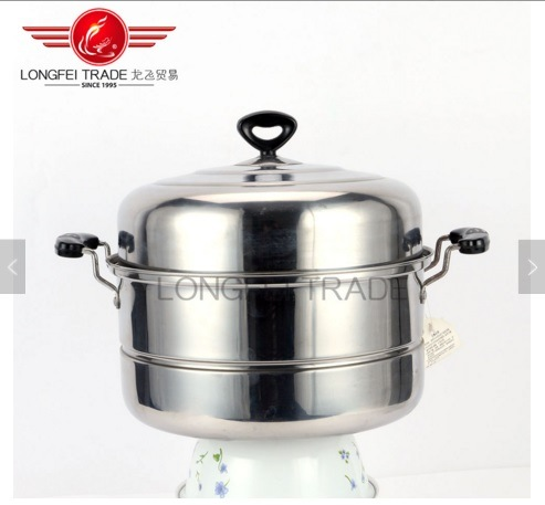 Cookware Set Hot Sale Double Stainless Steel Steamer Pan&Pot
