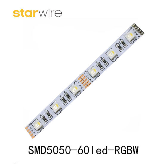 Color Changing SMD5050 Flexible RGBW RGB LED Strip with UL Ce RoHS pictures & photos