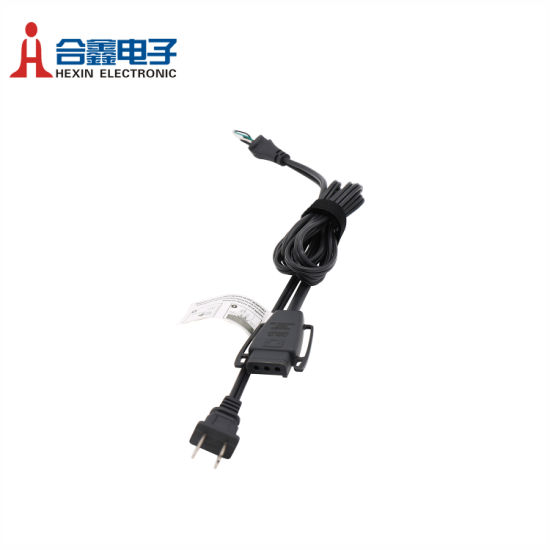 UL 3pin/4pin Plastic Connector AC Power Cord Power Cable